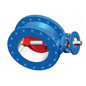Triple-Eccentric Butterfly Valve Flanged type