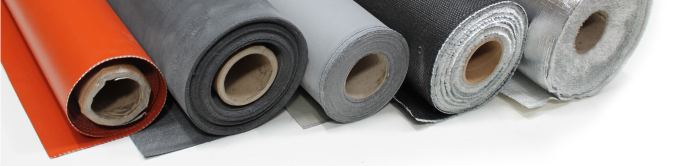 Coated technical fabrics glass cloth