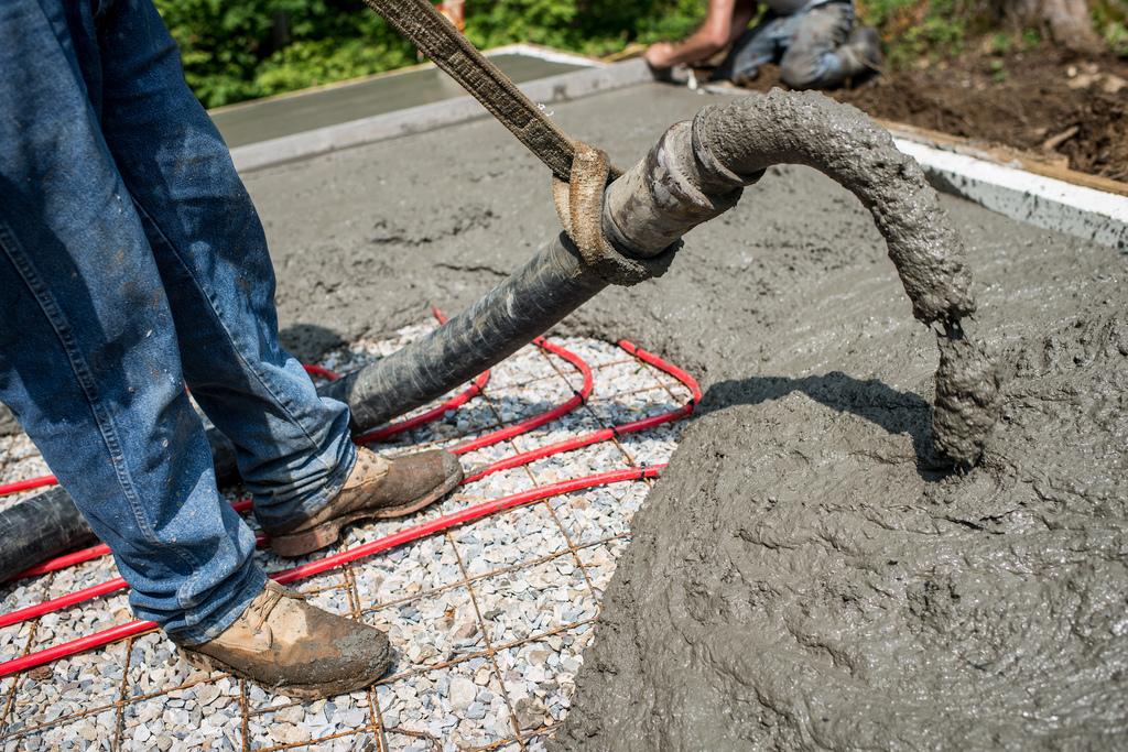 Abrasion resistant hoses for Best temperature to pour concrete foundation