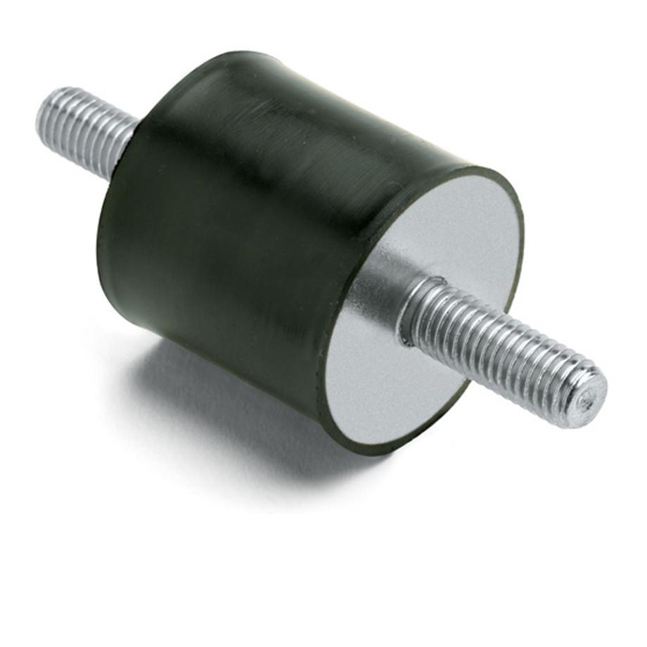 Cylindrical antivibration mounts