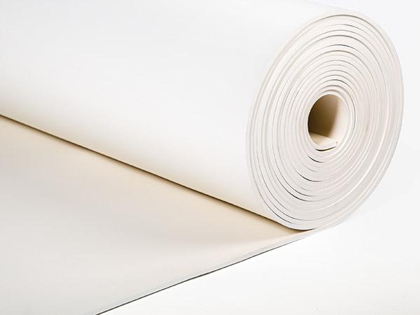 White food safe EPDM rubber