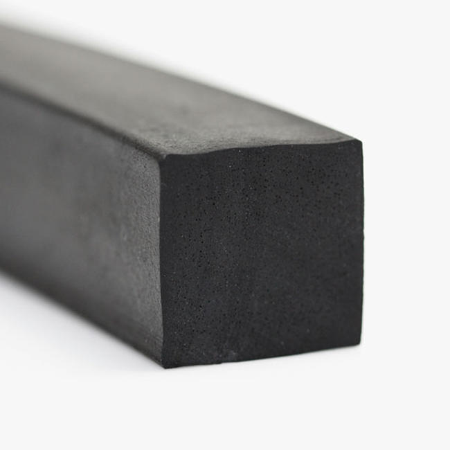 Conductive extrusion rectangular strip